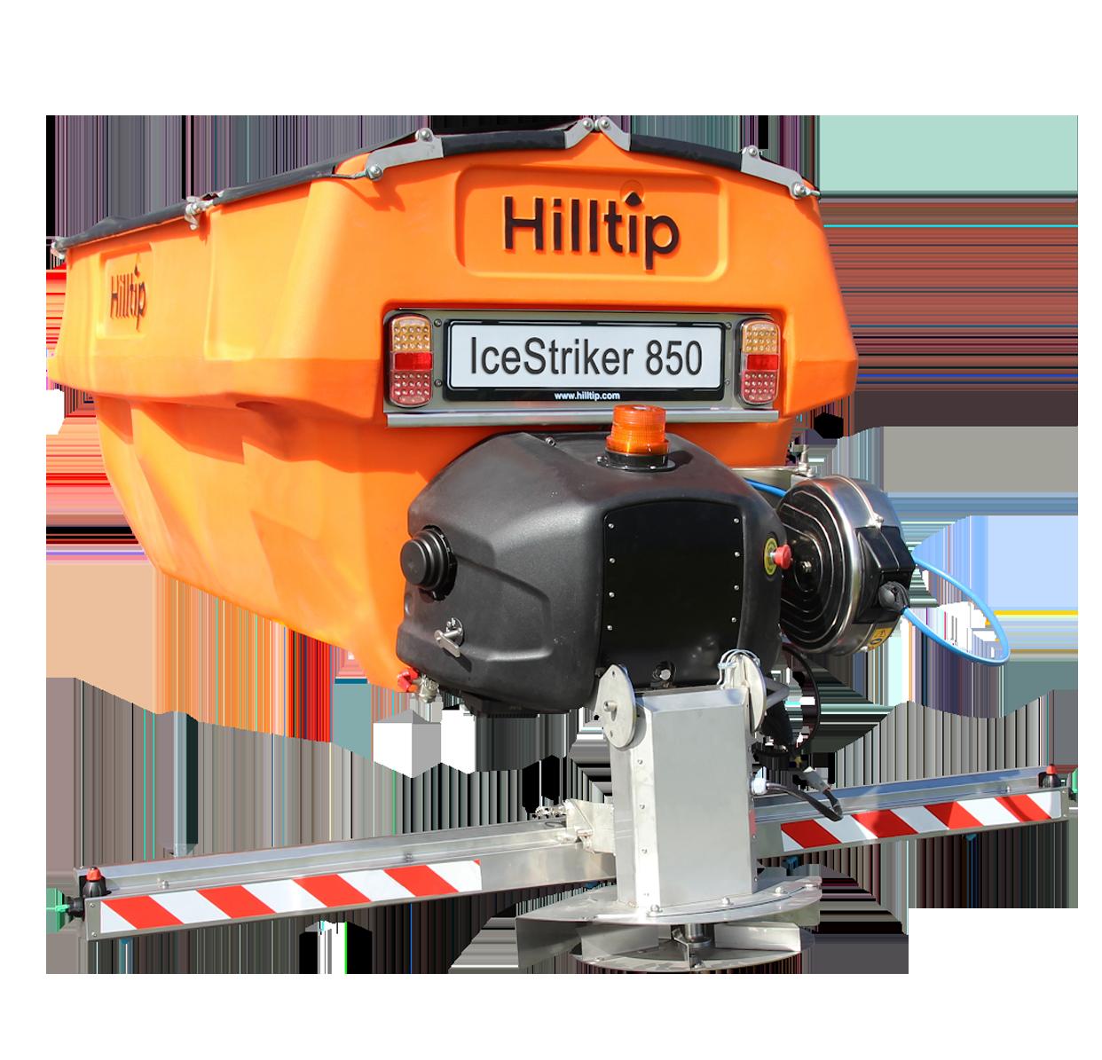Hilltip IceStriker 850 Streuer Streusysteme HWNtec Streusysteme