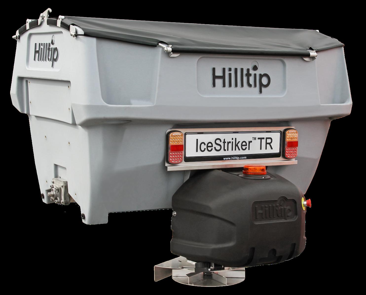 Hilltip IceStriker TR 600 mit Spraybar HWNtec Streusysteme